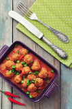 Spanish meatballs Stock Images