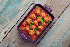 Spanish meatballs Royalty Free Stock Photography