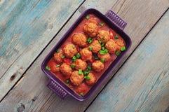 Spanish meatballs Royalty Free Stock Photography