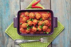 Spanish meatballs Stock Photo