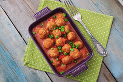 Spanish meatballs Stock Images