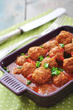 Spanish meatballs Stock Image