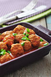 Spanish meatballs Royalty Free Stock Images