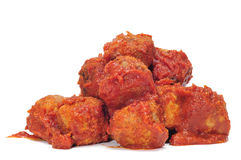 Spanish meatballs stew Royalty Free Stock Image