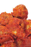 Spanish meatballs stew Stock Image