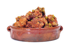 Spanish meatballs stew Royalty Free Stock Photos