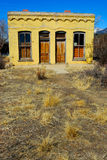 Spanish Medalian. Old Spanish home in Buena Vista Colorado Royalty Free Stock Photography