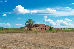 Spanish medieval country house. Stock Images