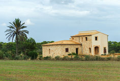 Spanish medieval country house. Stock Image