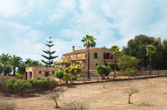 Spanish medieval country house. Royalty Free Stock Image
