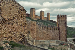 Spanish medieval fortress Royalty Free Stock Photo