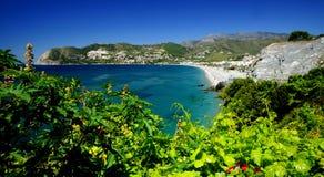 Spanish Medirerranean Coast Stock Photo