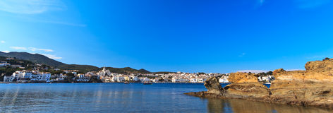 Spanish Mediterranean fishing village Stock Photos