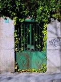 Spanish metal door Stock Photo