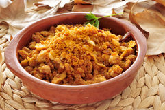 Spanish migas Stock Images