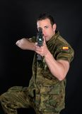 Spanish military Stock Photography