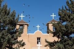Spanish Mission Birds Royalty Free Stock Photos