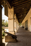 Spanish Mission Colonnade Royalty Free Stock Images