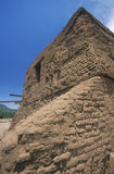 Spanish Mission ruins, Pecos National Historical Park, NM Royalty Free Stock Image