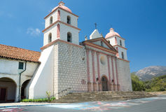 Spanish Mission in Santa Barbara Stock Photo