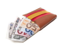 Spanish money purse Stock Image