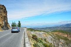 Spanish mountain road Royalty Free Stock Photo