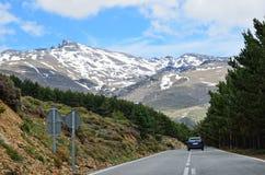 Spanish mountain road Stock Photography