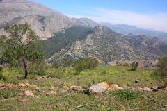 Spanish Mountains Royalty Free Stock Photography