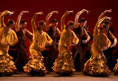 Spanish national ballet Stock Images
