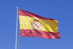 Spanish national flag Stock Image