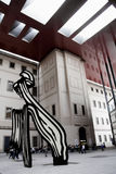 Spanish National Museum of Art - Reina Sofia Stock Photos
