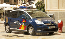 Spanish National Police Royalty Free Stock Photos
