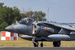 Spanish Navy Armada Española McDonnell Douglas EAV-8B Harrier Jump Jet aircraft stock photos