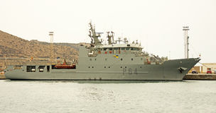 Spanish Navy, Cartagena Stock Photo