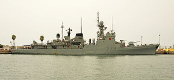 Spanish Navy, Cartagena Stock Photos