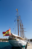 Spanish Navy training ship J.S. de ElCano Royalty Free Stock Photography
