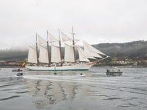 Spanish Navy Training Ship, Juan Sebastian Elcano Stock Image