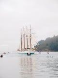 Spanish Navy Training Ship, Juan Sebastian Elcano Royalty Free Stock Photos