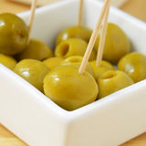 Spanish olive tapas Royalty Free Stock Photos