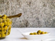 Spanish Olives Stock Photography