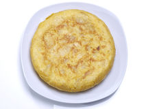 Spanish omelet. Royalty Free Stock Photography