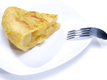 Spanish omelet. Royalty Free Stock Photos