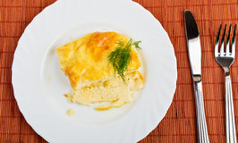 Spanish omelet Royalty Free Stock Photo