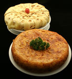 Spanish omelete snack - Tapas Stock Image
