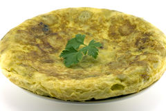 Spanish omelette Stock Photos