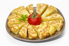 Spanish omelette Royalty Free Stock Photography