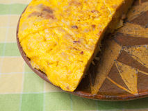 Spanish omelette Stock Photography