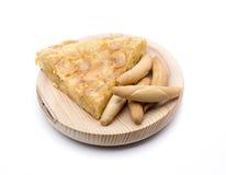 Spanish omelette peak Stock Images