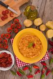Spanish omelette. royalty free stock images