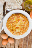 Spanish omelette tortilla Royalty Free Stock Photos